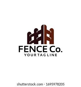 Fence Logo Template Vector stock