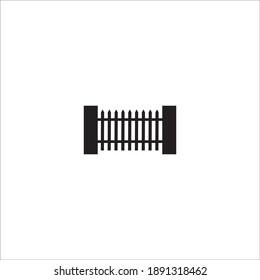 Fence Template vector icon illustration design