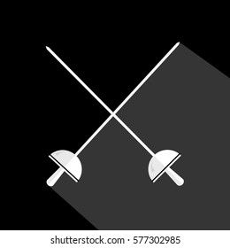 fencing swordplay sport black