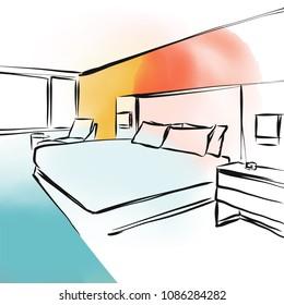 https://image.shutterstock.com/image-vector/feng-shui-bedroom-concept-design-260nw-1086284282.jpg