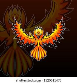 Fenix Mascot Bird Wing Fly Talisman