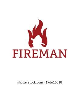 fereman in flame