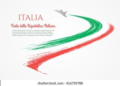 Festa della Repubblica Italiana. Italian National Day.