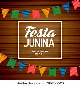 festa junina brazilian june holiday background