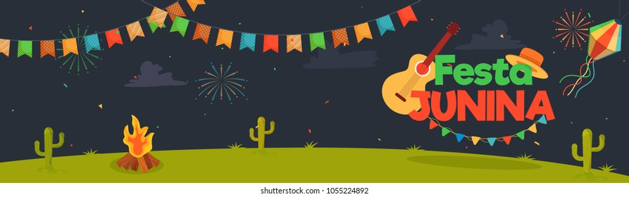 Festa Junina, holiday background.