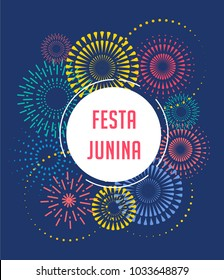 Festa Junina - Latin American, Brazilian June Festival, holiday poster