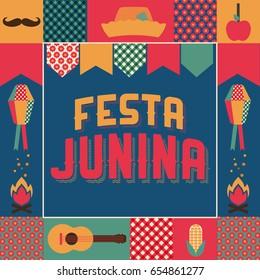 Festa Junina, party in June traditional in Brazil.
