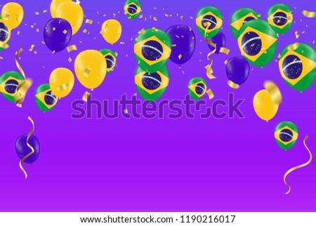 Festival Celebrated Brazilian Colorful Celebration Brazilian