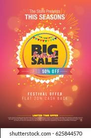 Festival Sale Template