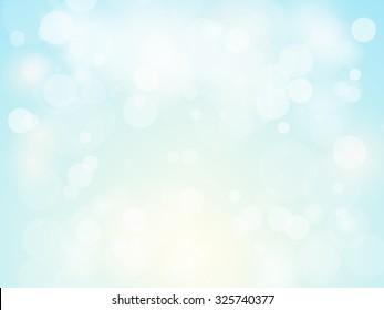 Festive background with colorful defocused circular facula bokeh