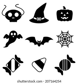 Festive Halloween Vector Icons