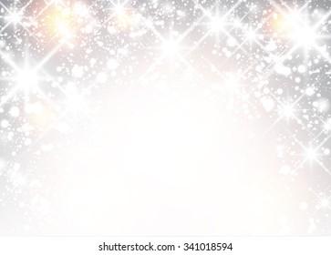 Festive luminous background. Vector Illustration.