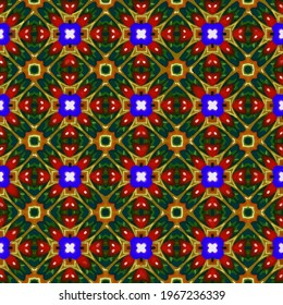 Festive seamless vector pattern . Great for wrapping paper and wallpaper. Abstract background with repeating patterns .