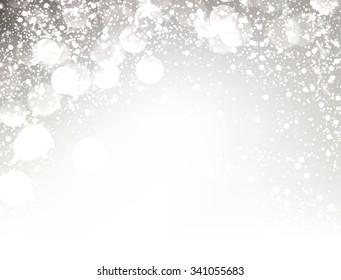 Festive shining background. Vector paper illustration.