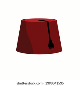 The fez (Turkish: fes) is a felt headdress in the shape of a short cylindrical peakless hat, usually red, and sometimes with a tassel attached to the top.