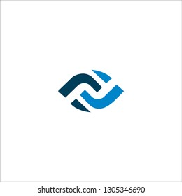 FF Letter Logo Design