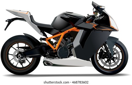 fictional sports bike