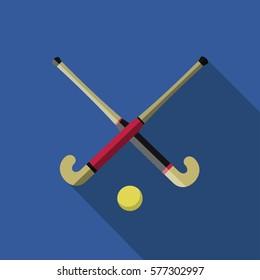 field hockey lawn blue