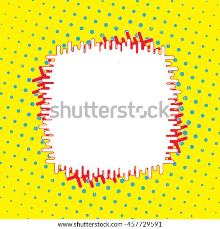 field insert text message minimum design stock vector royalty free