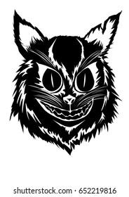Fierce cat (Black&White)