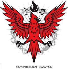 Fiery Cardinal