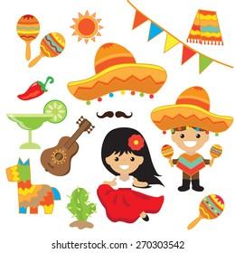 Fiesta vector illustration
