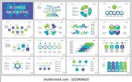 Fifteen Finance Slide Templates Set