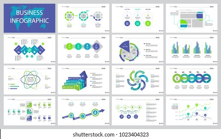 Fifteen Strategy Slide Templates Set