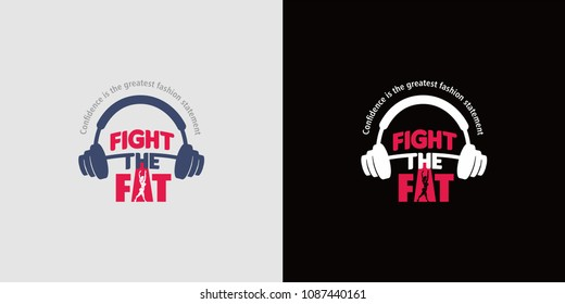 Fight the Fat Logos