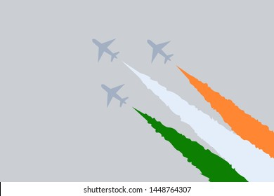 Indian Flag Plane Images, Stock Photos & Vectors | Shutterstock