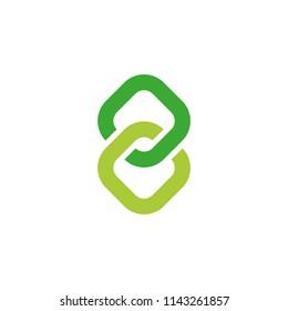 Figure Eight Link Symbol Vector