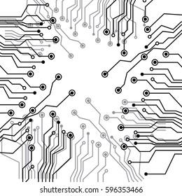 figure electrical circuits icon, vector illustraction design