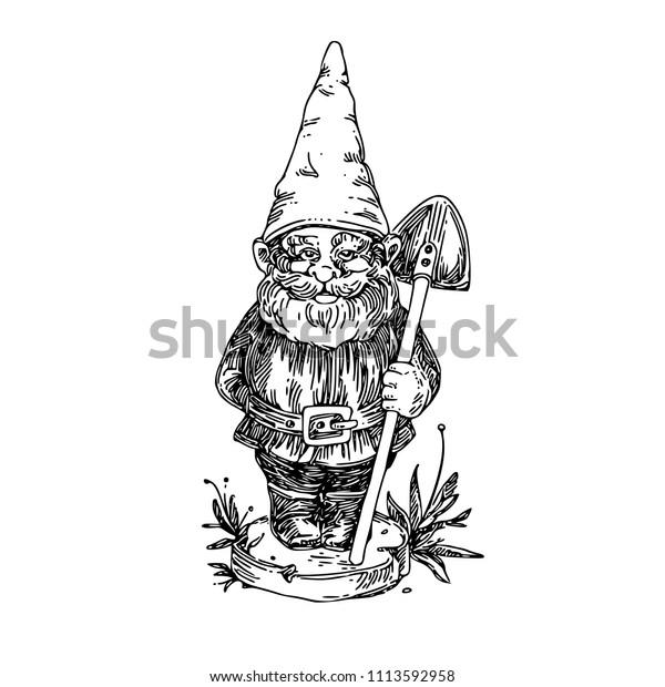 4,364 Garden Gnome Illustrations, Royalty-Free Vector Graphics & Clip Art -  iStock