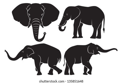 the figure shows the animal elephant