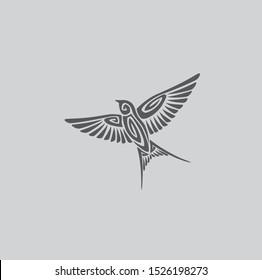swallow logo images stock photos vectors shutterstock https www shutterstock com image vector figure shows bird swallow logo 1526198273