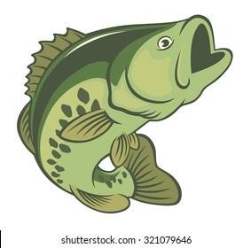 The figure shows a fish bass