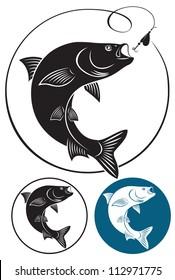 The figure shows a fish chub