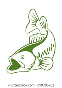 The figure shows a fish perch