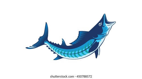 the figure shows a king mackerel