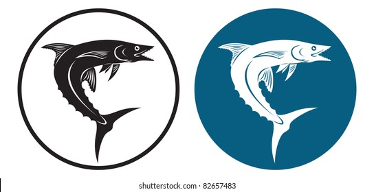 the figure shows a mackerel fish