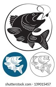 the figure shows the predatory fish
