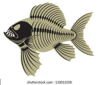 the figure shows prehistoric fish