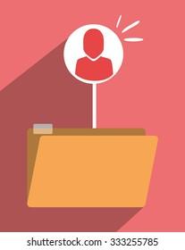 file archive icon symbol design, vector illustration graphic
