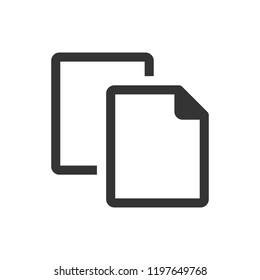 File duplicate icon