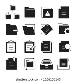 file and folder icons