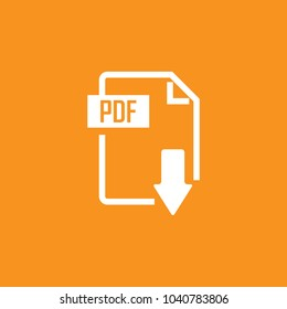 File format, Extension icon, stock vector, eps10.