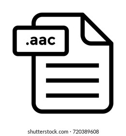 .aac file icon