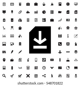 file icon illustration isolated vector sign symbol
