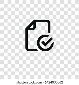 file icon from miscellaneous collection for mobile concept and web apps icon. Transparent outline, thin line file icon for website design and mobile, app development