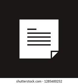 file icon. file vector design. sign design